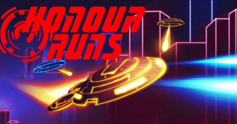 Honour Runs – le twin stick shooter épileptique remixé sort sur Steam le 16 février 2021