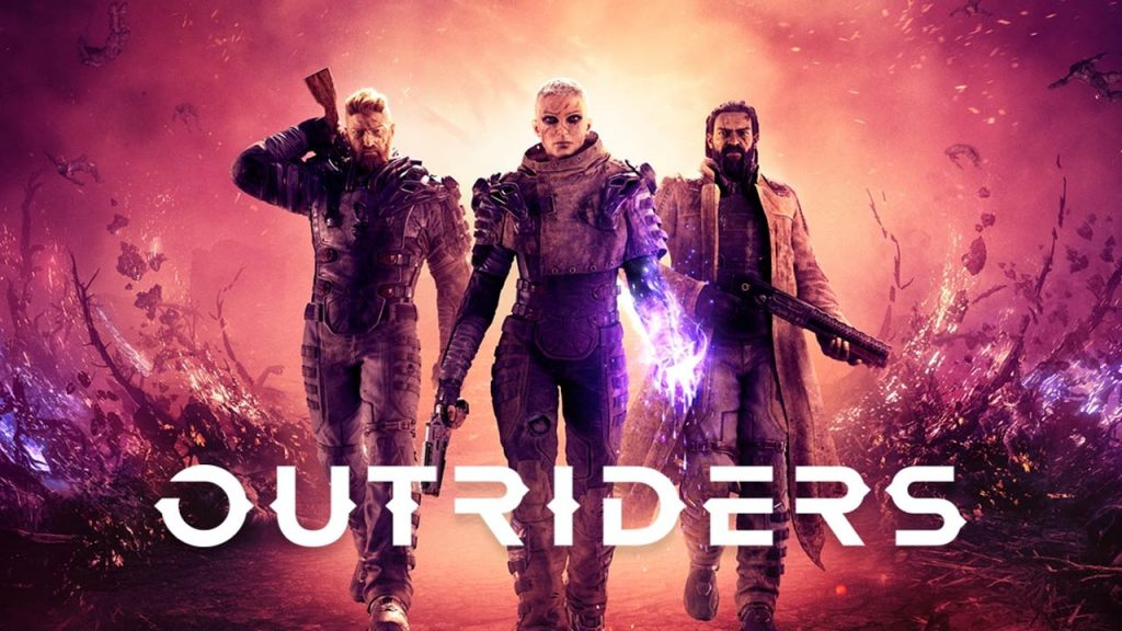 affiche Outriders