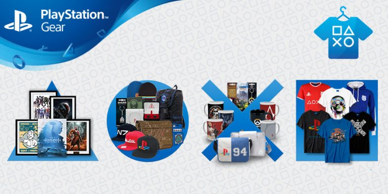 PlayStation Gear – La boutique de Goddies de retour en France !