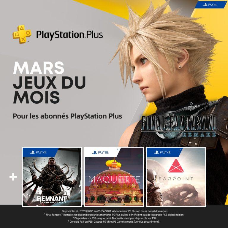 PlayStation + – Les jeux de Mars dévoilés
