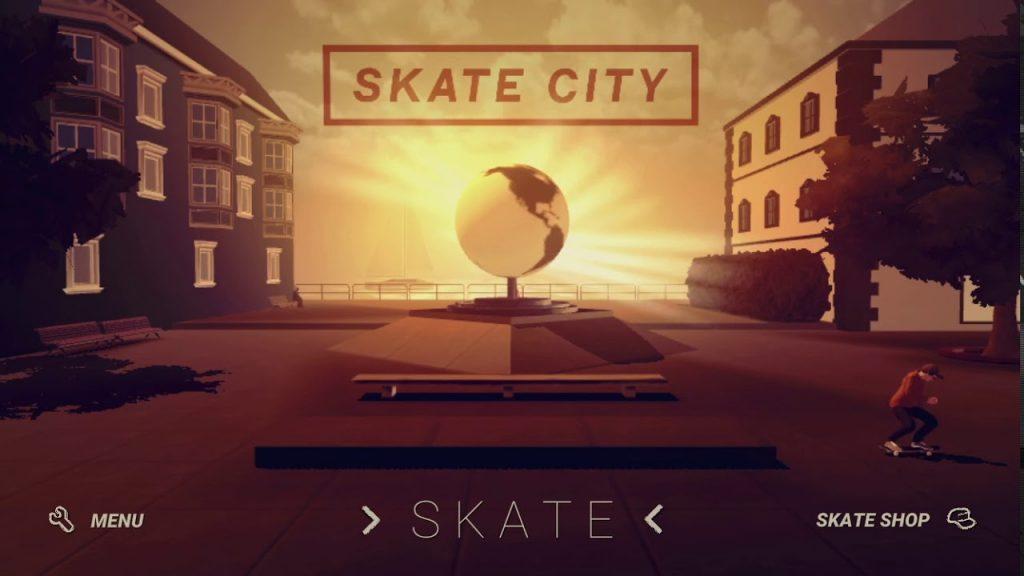 affiche Skate City