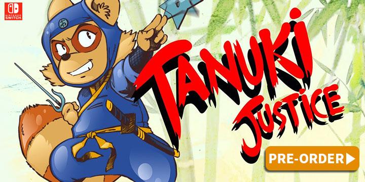 Tanuki Justice – Sortie physique enfin annoncée pour le 26 février sur Switch