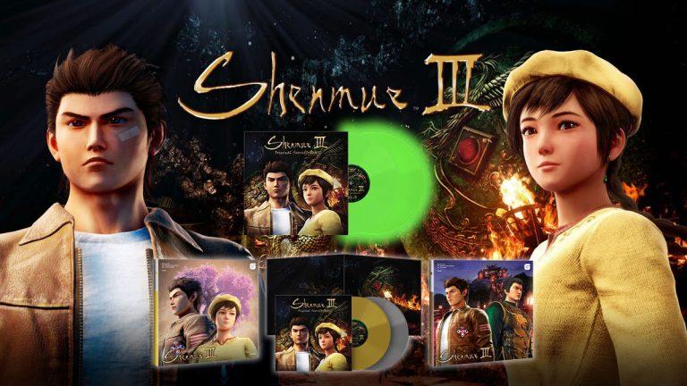 Shenmue III – Sortie des vinyles le 30 avril !