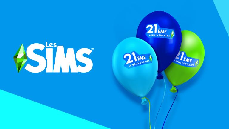 Les Sims – Fêtez le 21ème anniversaire de la licence avec 21 nouveaux objets dans Les Sims 4