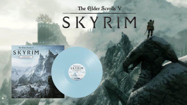 The Elder Scrolls V – Retour à Bordeciel avec le vinyle Skyrim Atmospheres !