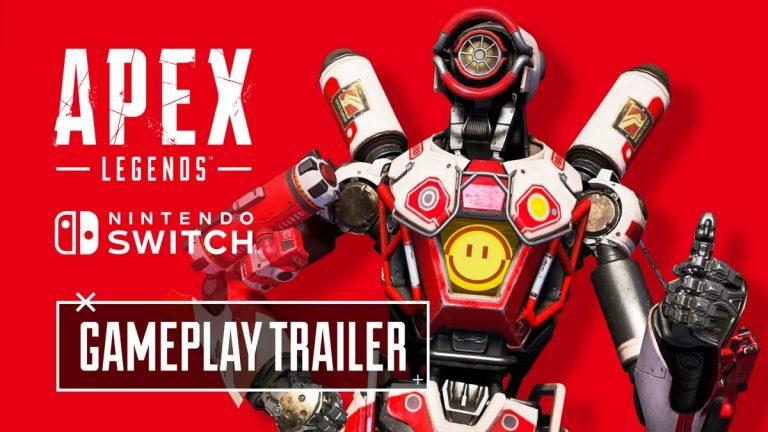 Apex Legend – Une toute nouvelle vidéo avant sa sortie sur la Nintendo Switch