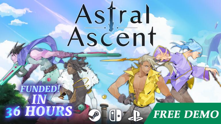 Astral Ascent – Un nouveau trailer et une démo pour fêter le financement du jeu