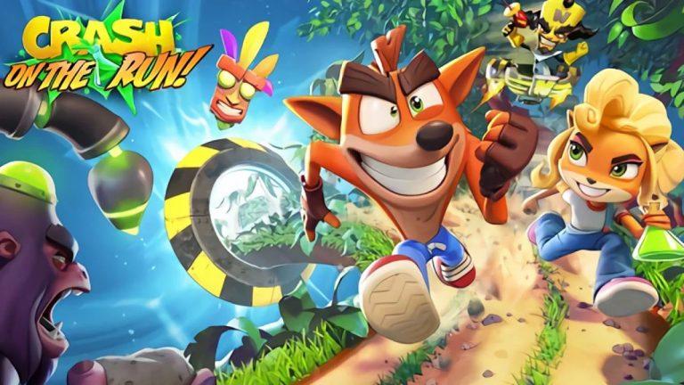 Crash Bandicoot On the Run – S'offre une vidéo gameplay de 6 minutes