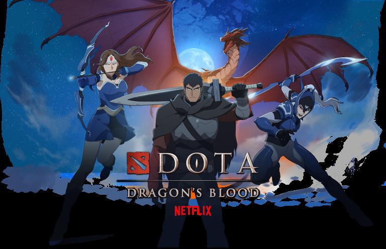 DOTA : Dragon's Blood – Ça vient de sortir sur Netflix !