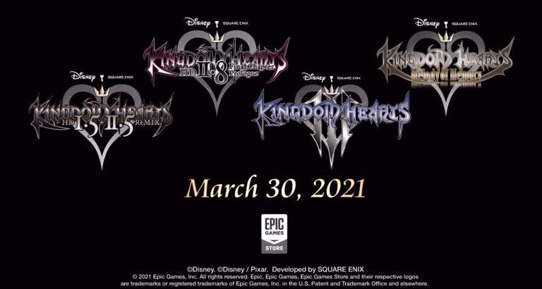 Kingdom Hearts – La franchise arrive sur l'Epic Games Store !