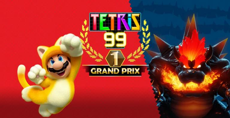 Tetris 99 – Le jeu s'offre une collaboration avec Mario 3D World + Bowser's Fury