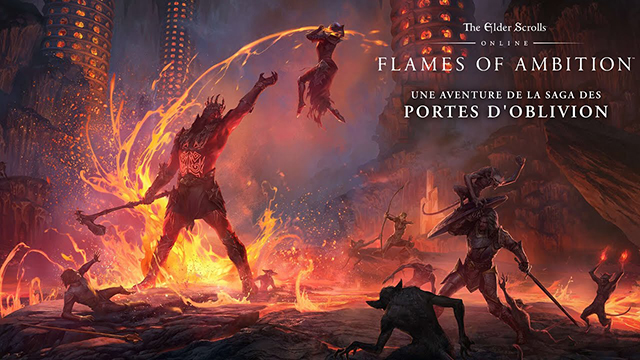 The Elder Scrolls Online – Pack Flames of Ambition disponible