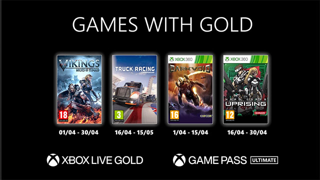 Games With Gold – On connaît les jeux d'avril!