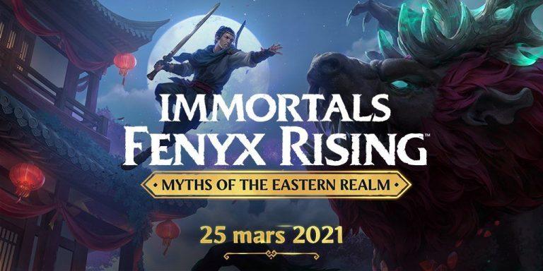 Mythes de l'Empire Céleste – Le nouveau DLC d'Immortals Fenyx Rising !