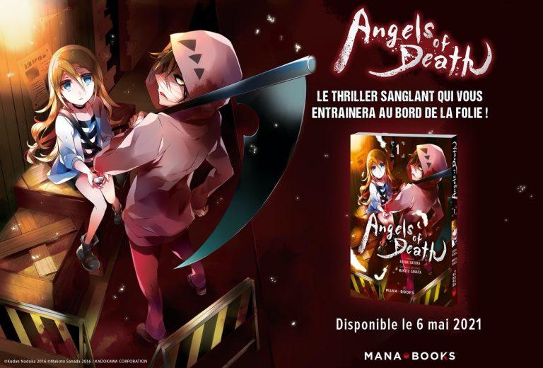 Angels of Death – Le bouquin arrive le 6 mai chez Mana Books