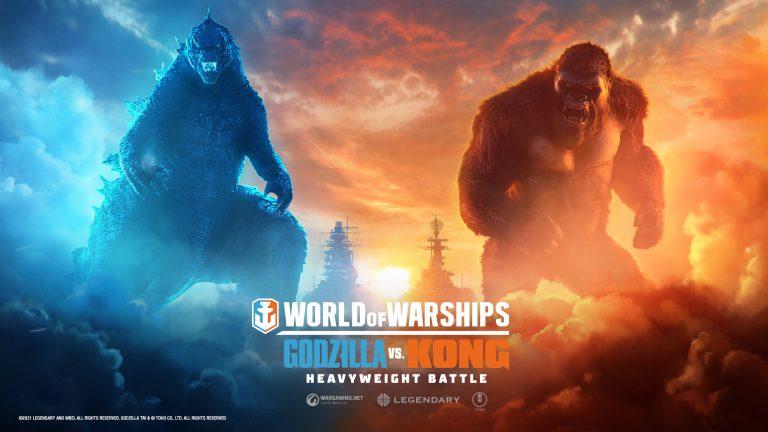 World of Warships – Les mythiques Godzilla et King Kong s'affrontent pour la suprématie !