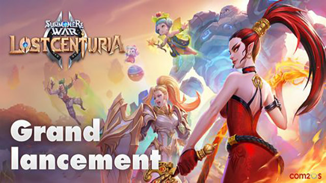 Summoners War : Lost Centuria – Sortie Mondiale!