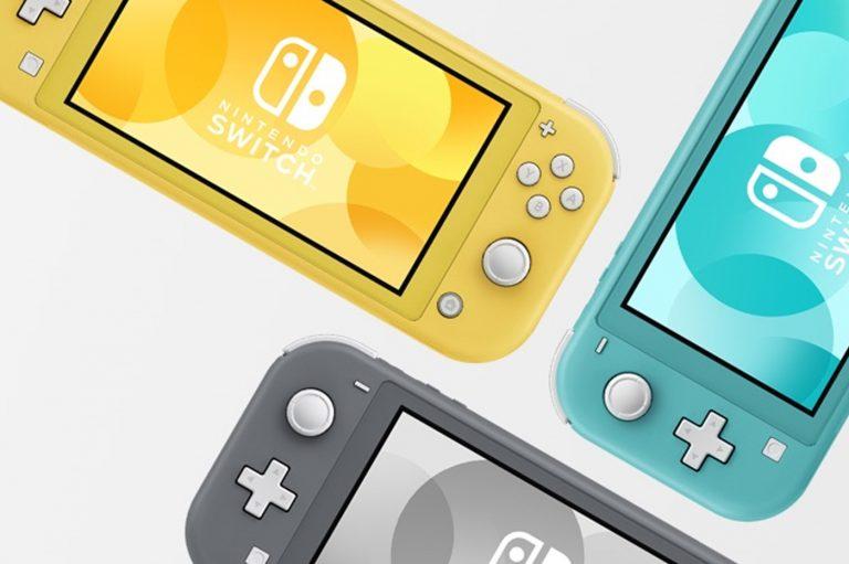 Nintendo Switch Lite – Un nouveau coloris arrive le 7 mai en France