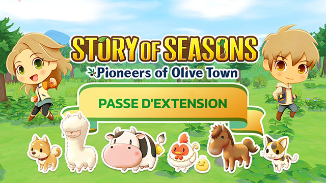 Story of Seasons : Pioneers of Olive Town – Le premier DLC est là!