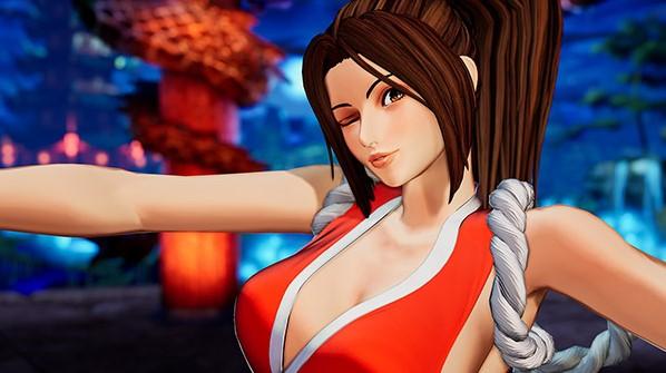 The King of Fighters XV – Mai Shiranui, plus sexy que jamais