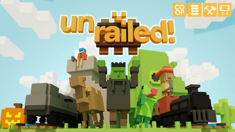 Unrailed! – Le jeu arrive en version physique sur la Nintendo Switch en quantité limitée