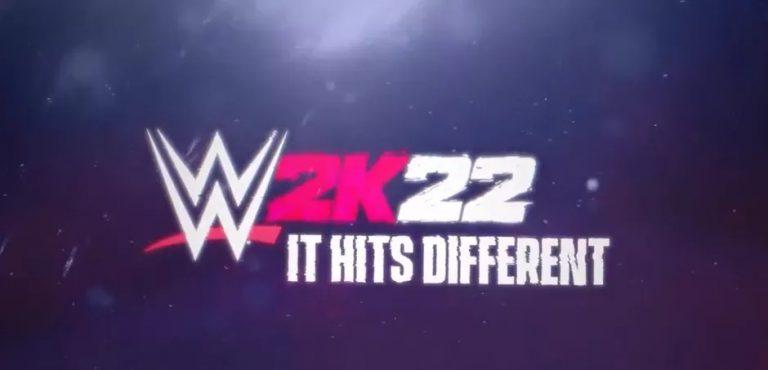 WWE 2K22 – Le tout premier trailer du jeu est paru