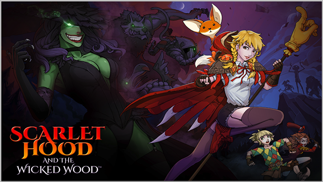 Scarlet Hood and the Wicked Wood – Un nouveau jeu d'énigmes