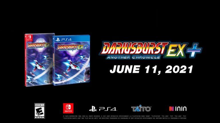 DariusBurst: Another Chronicle EX + – Le titre arrive en juin sur PlayStation 4 et Switch