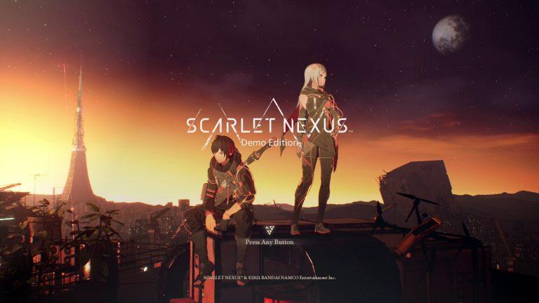 Scarlet Nexus- Une démo annonçée