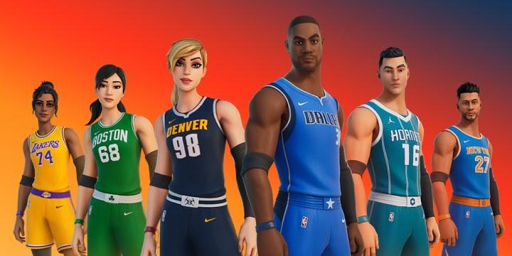 Fortnite – la seconde moitié du crossover créatif avec la NBA à démarrer