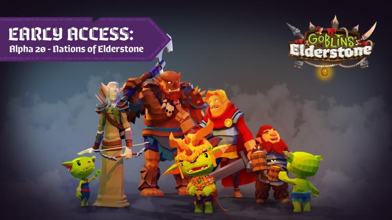 Goblins of Elderstone – La mise à jour Diplomacy est désormais disponible