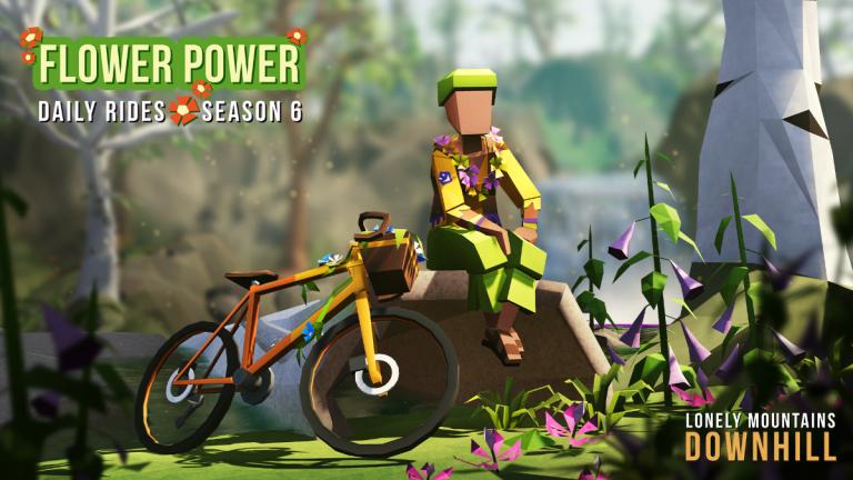 Lonely Mountains: Downhill – C'est partit pour la saison 6 de Daily Rides : Flower Power