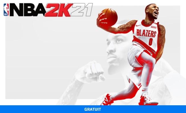 NBA 2K21 – La simulation de basket est 100% gratuite sur l'Epic Games Store