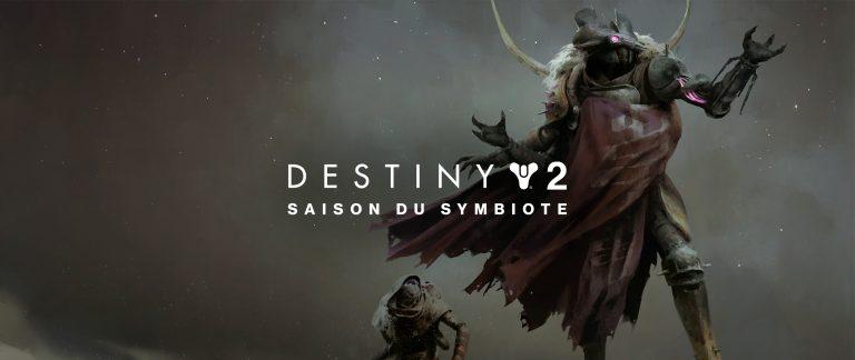Destiny 2 – C'est parti pour la Saison du Symbiote !