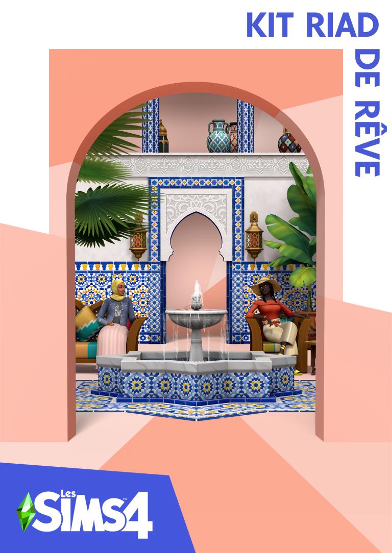 Les Sims 4 – Nouveau kit «Riad de rêve» disponible le 18 mai