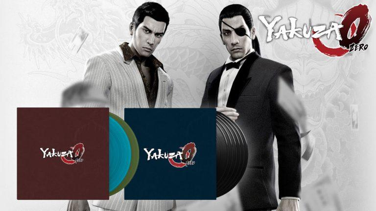 Yakuza 0 – Sa musique arrive au format Vinyle en deux éditions !