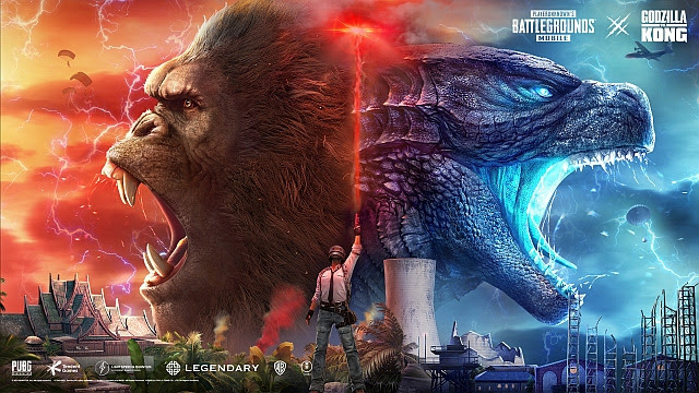 PUBG Mobile – Godzilla VS. Kong maintenant disponible