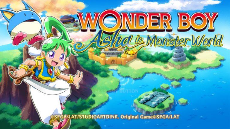 TEST – Wonder Boy : Asha in MonsterWorld