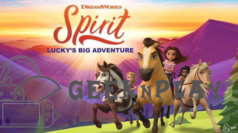 SPIRIT La Grande Aventure de Lucky – L'adaptation vidéoludique de la série est désormais disponible.