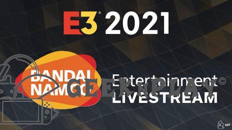 Bandai Namco – Le résumé de la conférence …