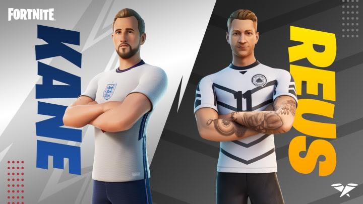 Fortnite – Deux stars du Football arrivent dans le jeu dans la série Icônes