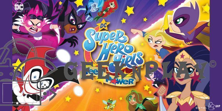TEST – DC Super Hero Girls: Teen Power