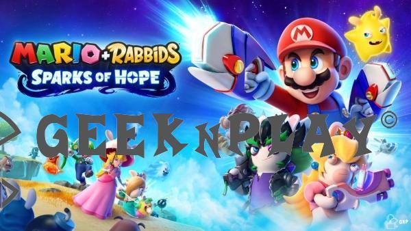 Mario + Rabbids Sparks of Hope – Le jeu a fait une apparition