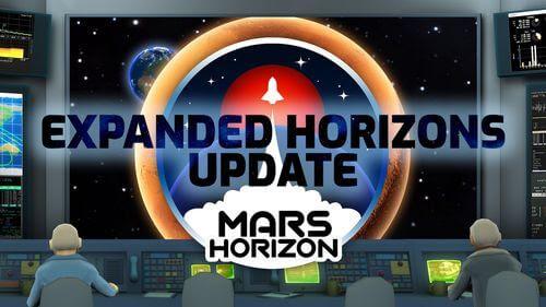 Mars Horizon – La nouvelle mise à jour vous emmène encore un peu plus près des étoiles