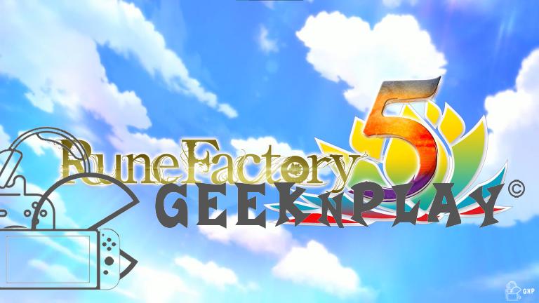 Rune Factory 5 – Arrivée début 2022 en Europe