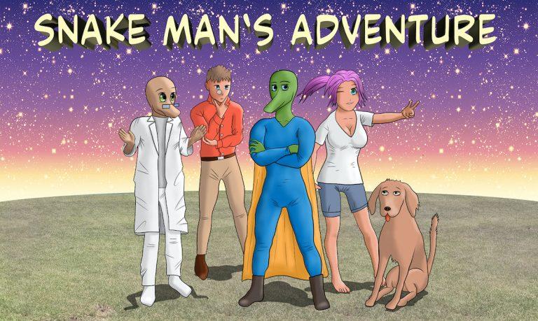 Snake Man's Adventure – Le jeu est disponible sur Steam !