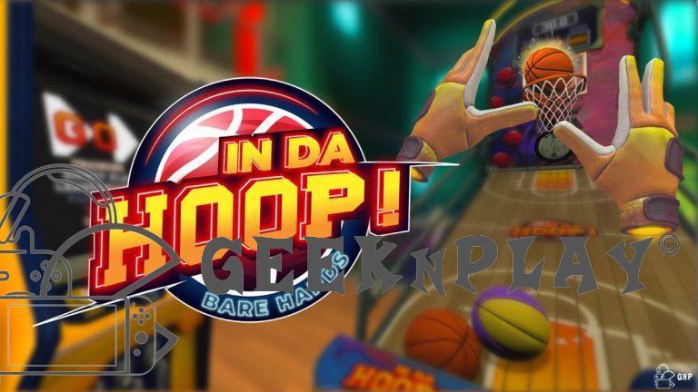 In da Hoop ! – Le jeu de basket VR est maintenant disponible sur l'Oculus Quest