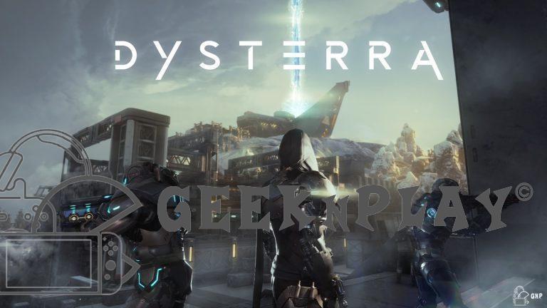 Dysterra – Le jeu d'action et de survie commence sa bêta fermée mondiale