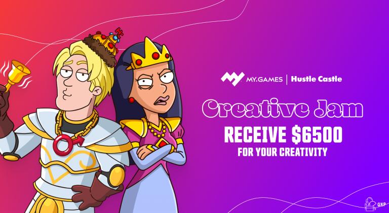 Hustle Castle – MY.GAMES organise une Creative Jam pour les vidéastes