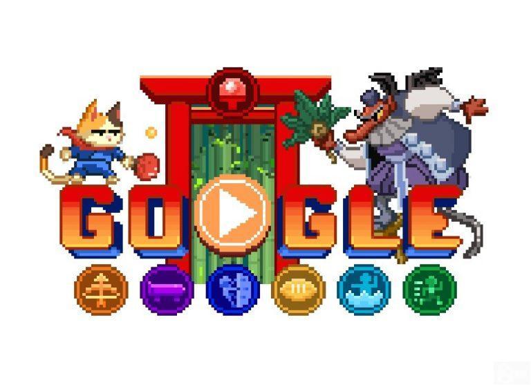 Doodle Champion Island – Google.com fête les JO d'été 2020 avec un jeu gratuit en pixel art.